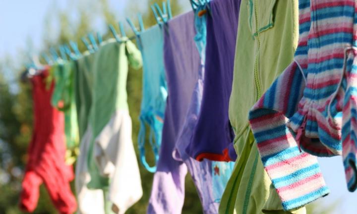 Dry Clothes in Sunshine