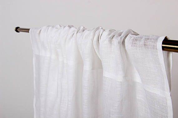 wash linen curtains