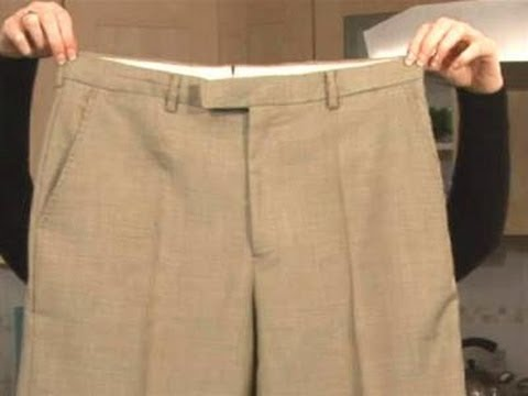 Creases of the Pants in a Straight Line