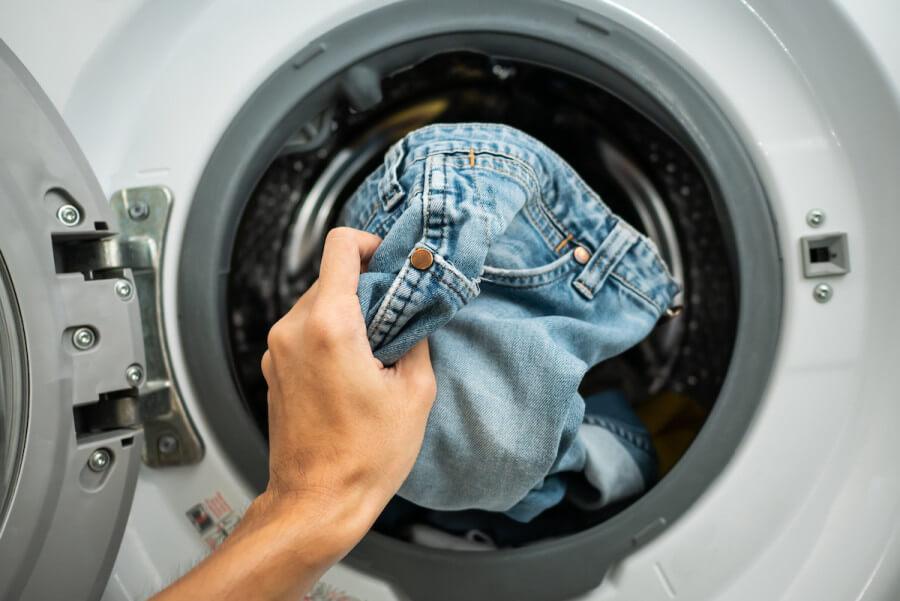 Washing Jeans & Denim